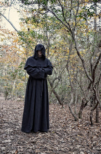 Grim Reaper Costume for Men, Women & Girls Robe and Hood