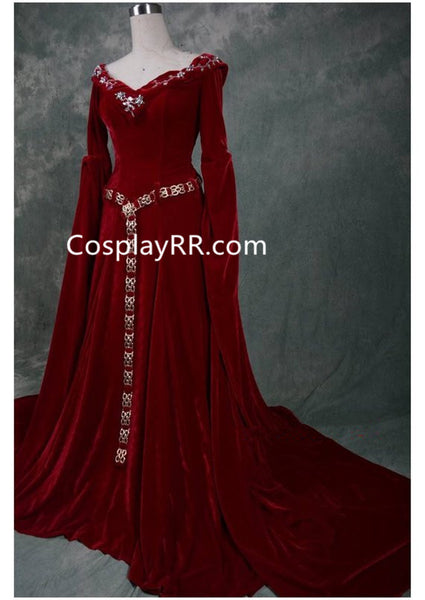 Queen Guineveres Costume Fancy Dress for Adult