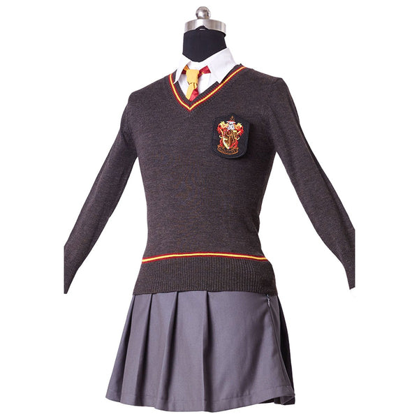 Harry Potter Hermione Granger Costume Hogwarts Gryffindor Uniform