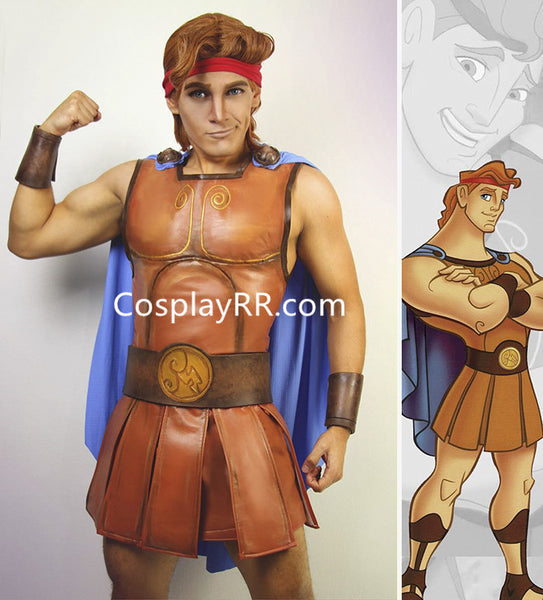 Hercules costume for male halloween costume
