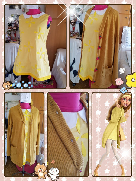 Honey Lemon costume plus size for child adult