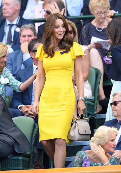 How to Dress like Cosplay Kate Middleton yellow dress