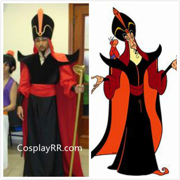 Jafar Costume, Jafar Cosplay Costume DIY for Sale