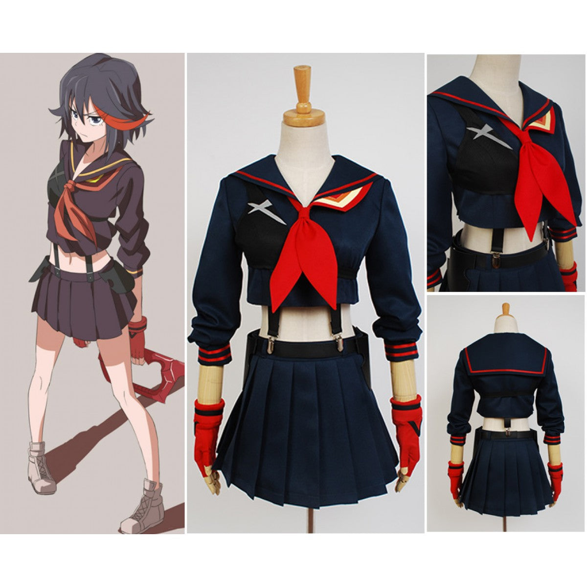 KILL la KILL Ryuko Matoi Cosplay Costume for Cheap
