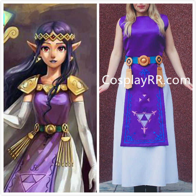 Legend of Zelda Princess Hilda tunic apron costume plus size