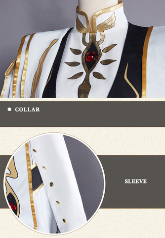 Lelouch Lamperou CODE GEASS Cosplay Lelouch of the Rebellion Emperor Ver Costume