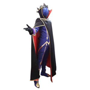 Lelouch of the Rebellion Zero Cosplay Costume Code Geass Costume