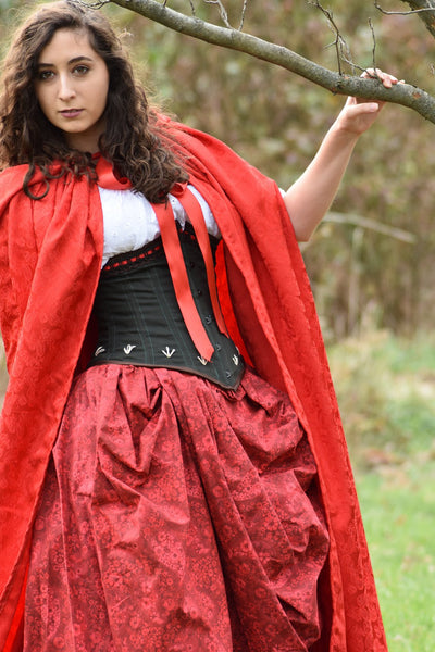 Little Red Ridding Hood Costume with Cloak