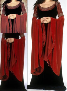 Liv Tyler as Arwen Blood Dress from The Lord of the Rings Return of the King