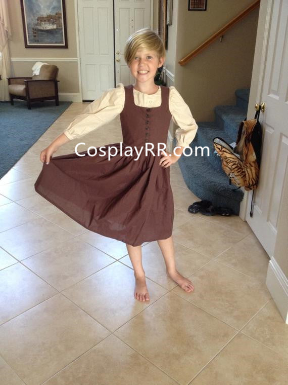 Sound of Music Maria Costume for Girl Adult Plus Size