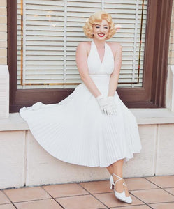 Marilyn Monroe Costume Dress Dance Costume for Women Girls Kids