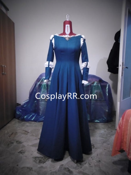 Brave Merida Costume Party Version Merida Dress Plus Size