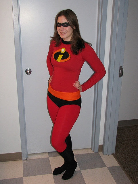 Mrs Incredible costume plus size elastigirl costume for adult