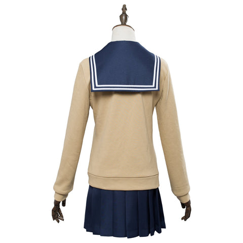 My Hero Academia Boku no Hero Cosplay Akademia Himiko Toga Costume School Uniform