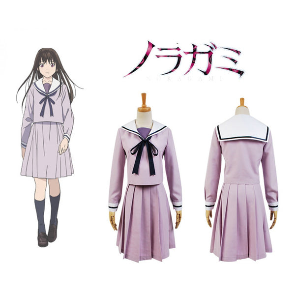 Noragami Cosplay Hiyori Iki Uniform Costume