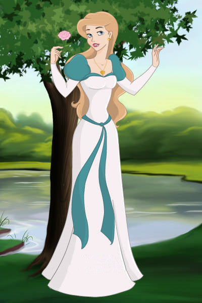 Odette Dress from The Swan Princess Odette Cosplay Costume