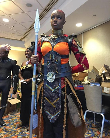 Okoye costume Dora Milaje costume plus size for sale