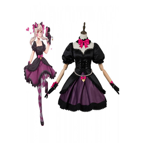 Overwatch OW Black cat Hana Song costume DVA outfit