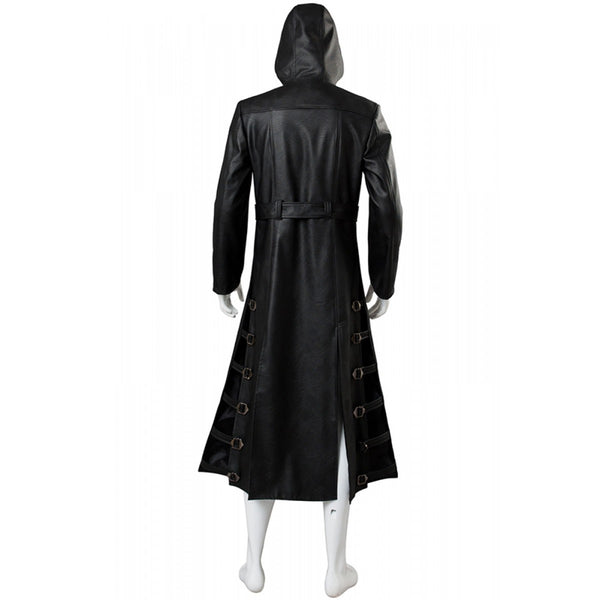 PUBG Playerunknown's Battlegrounds costume black trench coat