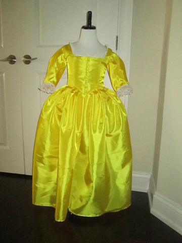 Peggy Schuyler Girls Rococo Gown OUAT Gown