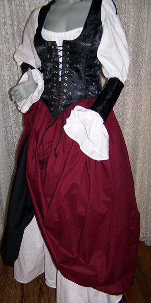 Piratess Renaissance Pirate Costume Dress