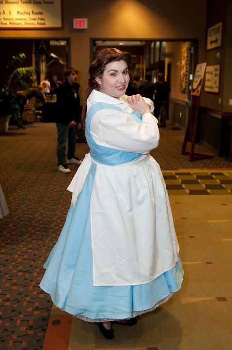 Plus Size Blue Belle Costume from Beauty and the Beast