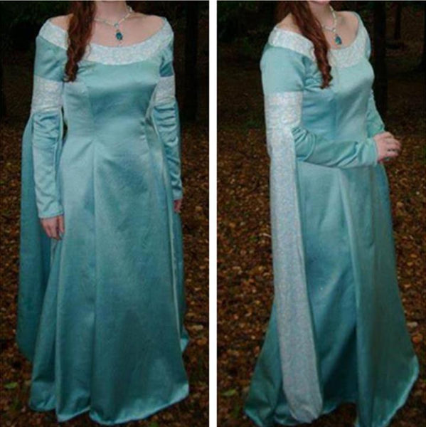 Princess Buttercup Blue Dress - Buttercup Costume in The Princess Bride