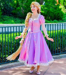 Princess Rapunzel Dress Tangled Rapunzel Costume for Girls Adults