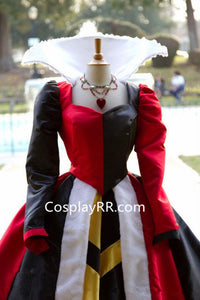 Queen of Hearts Villains Costume Alice in Wonderland
