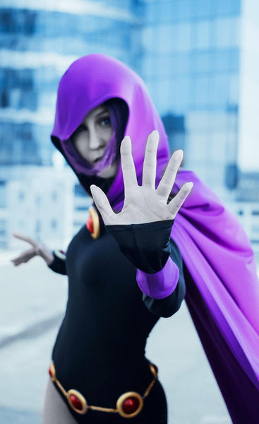 Raven from Teen Titans Go cosplay cloak only