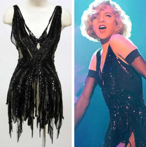Renee Zellweger Roxie Hart Black Dance Dress