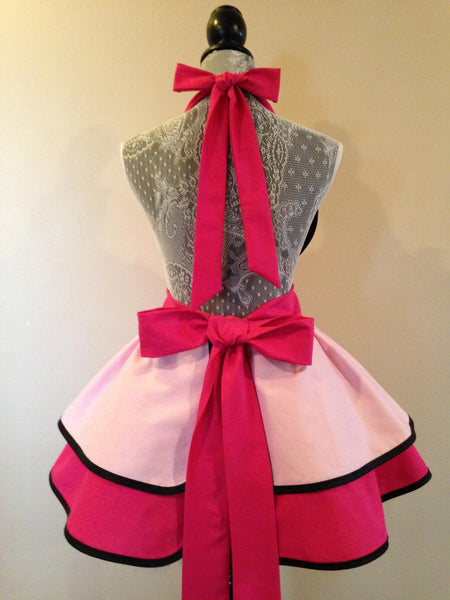 Retro Apron Costume Plus Size