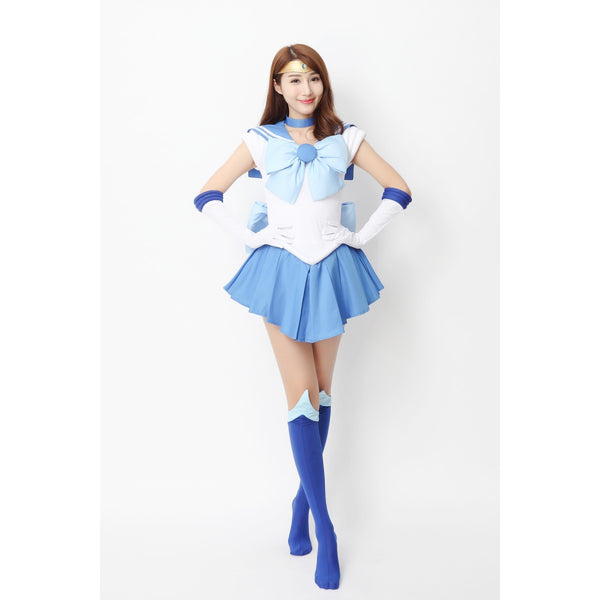 Sailor Moon Sailor Mercury Ami Mizuno Cosplay Costume