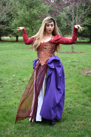 Sarah Sanderson Costume - 18th Century Sarah Sanderson Dress Hocus Pocus Costume