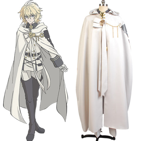 Seraph of the End Vampires Cosplay Mikaela Hyakuya Costume Uniform Outfit