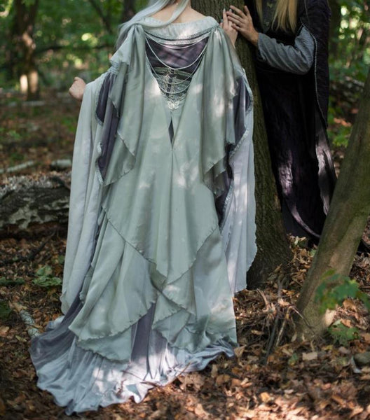 Galadriel Costume Adult Lady Galadriel Elven dress Cosplay for Women