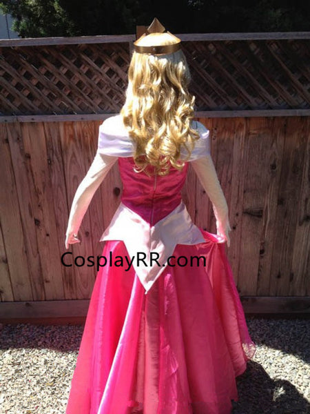 Sleeping Beauty Princess Aurora Dress Park Version Aurora Costume