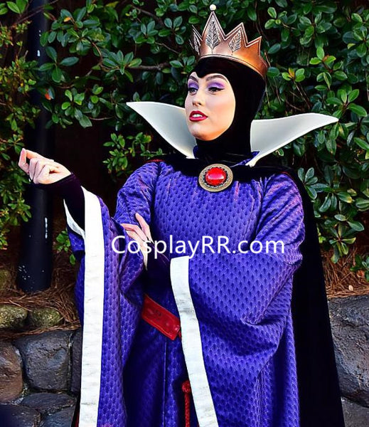 Snow White Evil Queen costume for women without crown