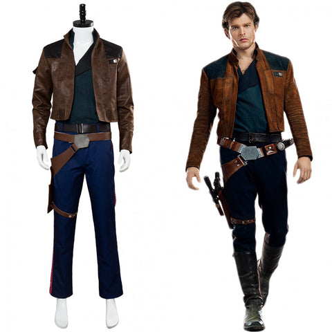 Solo A Star Wars Han Solo Costume Outfit