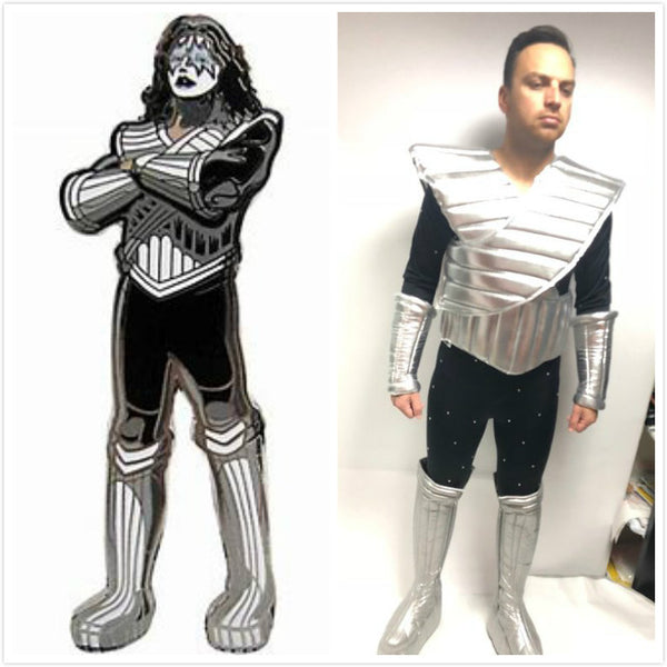 Spaceman Lovegun Costume, Ace Frehley Cosplay Costume