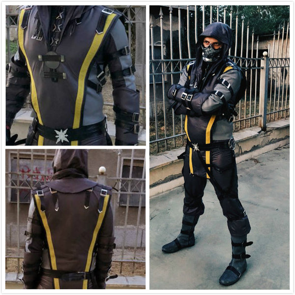 Spec Ops SCORPION Mortal Kombat X costume without mask and boots