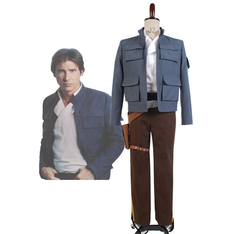 Star Wars: Empire Strikes Back Han Solo Costume Full Outfits