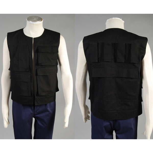 Star Wars Han Solo Vest ANH A New Hope Costume Black Vest only