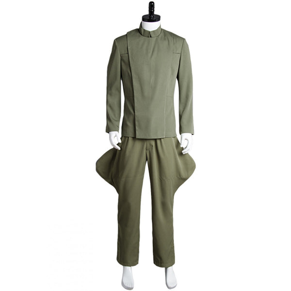 Star Wars Imperial Officer Olive Green Costume Female Male