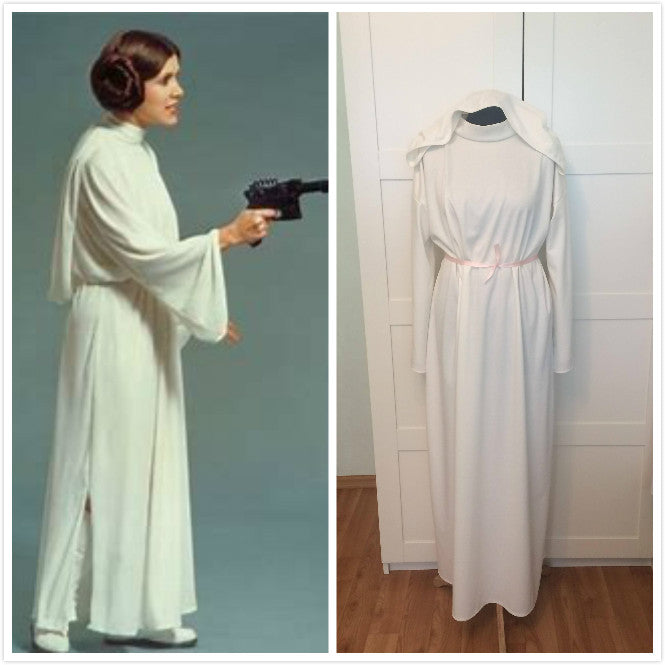 Star Wars Princess Leia Costume Organa Solo Costume Plus Size