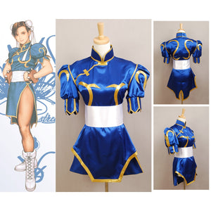 Street Fighter Chun Li Costume Halloween Costume
