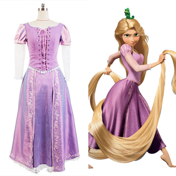 Tangled Princess Rapunzel Costume for Adults Rapunzel Dress
