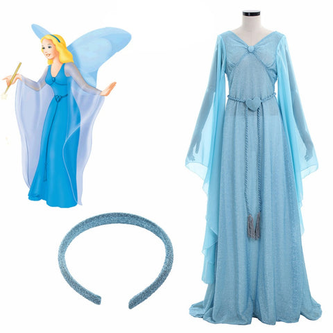 The Adventures Of Pinocchio Blue Fairy Dress Fairy Pinocchio Costume