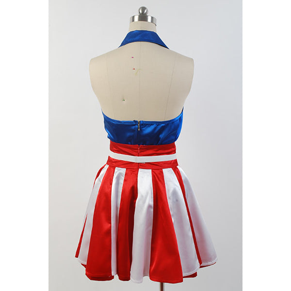 The Avengers Captain America Dress Costume
