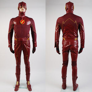 The Flash Barry Allen Red Costume Bodysuit for Female Male